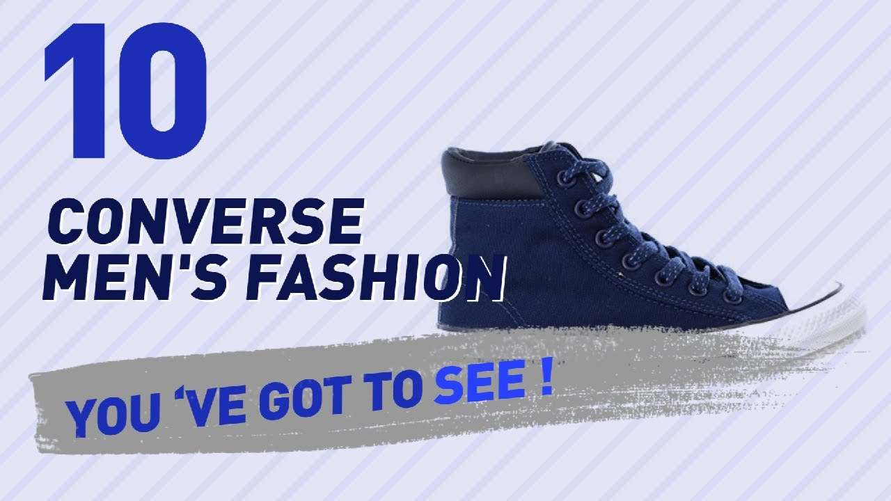 2e28503e69866c Converse Waterproof For Men    New   Popular 2017 - YouTube