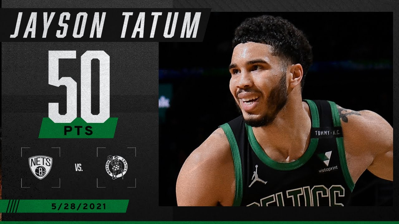 Download ☘️ Jayson Tatum GOES OFF for 50 PTS in Celtics' Game 3 win ☘️