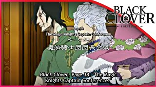 Black Clover Episode 38 Preview - The Magic Knights Captain Conference Eng Sub