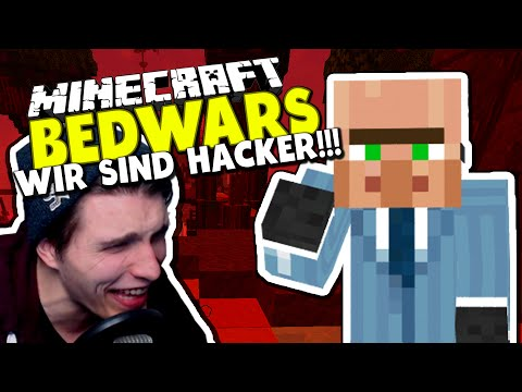 BÖSE HACKER & MEIN GEHIRN LAGGT! ✪ RUNDE Minecraft Bedwars Woche Tag 22 mit Concrafter