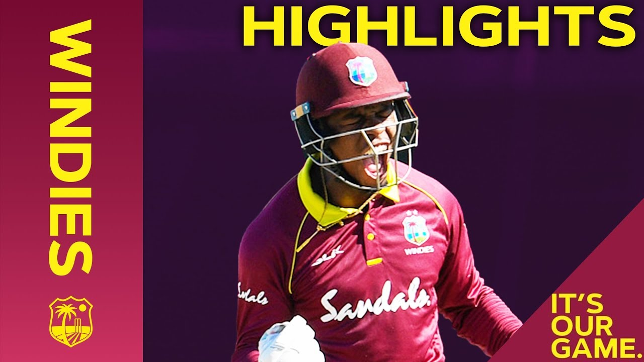 Hetmyer Hits Hundred As Windies Strike Back | Windies vs England 2nd ODI 2019 - Highlights