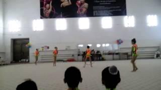 художественная гимнастика 5 семей 2015г