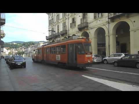 Streetcars of Rome and Turin