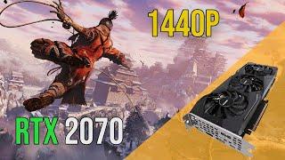 Geforce RTX 2070 Test in 13 Games (1440P) (Gigabyte Windforce)