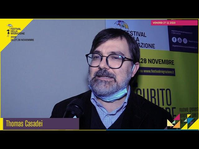 Festival migrazione 2020 // Osservatorio Migranti CRID // Intervista Thomas Casadei