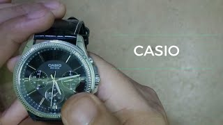 UNBOXING OF Casio A838. MTP-1375L-1AVDF