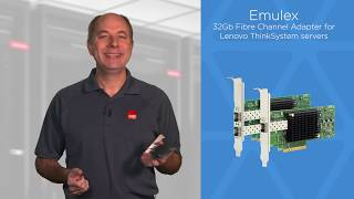 Lenovo Emulex Single and Dual Port 32Gb Fibre Channel Adapters