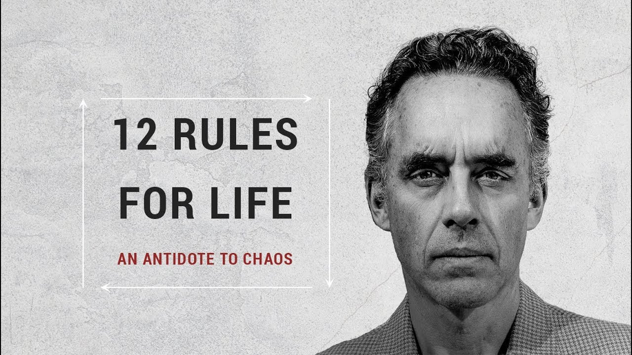 Image result for 12 rules for life an antidote to chaos