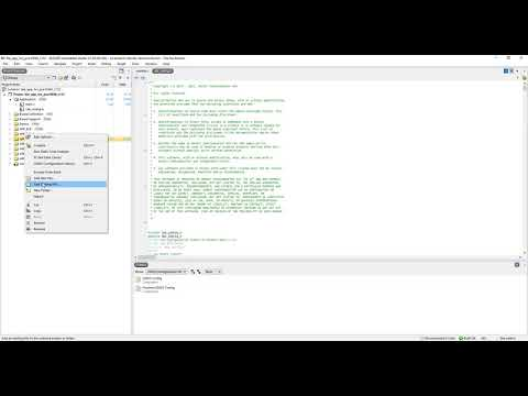 SEGGER Embedded Studio - Importing files and drivers