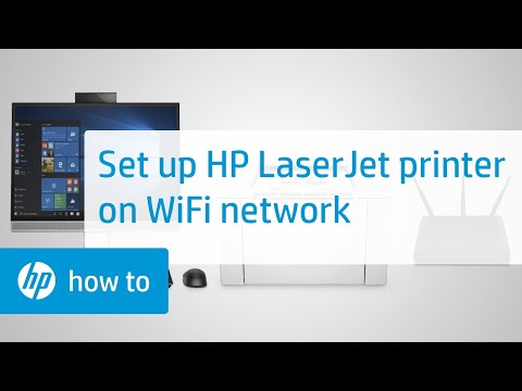 Setting Up Your HP LaserJet Printer on a Wireless Network in Windows | HP LaserJet | HP