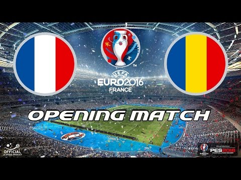 PES 2016 - EURO 2016 - Group A - France v Romania