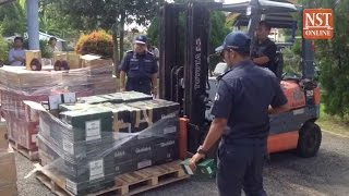 Contraband cigarettes and liquor from Langkawi worth over RM300k seized