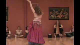 Colleen the Belly Dancer Performs at Euphoria Studios
