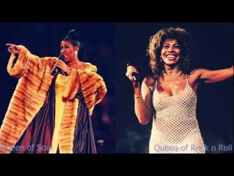 Belting Battle: Aretha Franklin vs Tina Turner