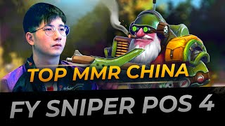 Sniper Support Pos 4 by fy | Full Gameplay Dota 2 Replay