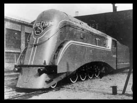 Soviet high-speed locomotives.