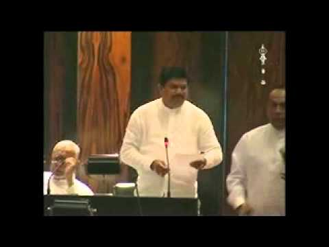 LAKSHMAN WASANTHA PERERA, MP ,Deputy Minister Industries and Commerce @ Parliment