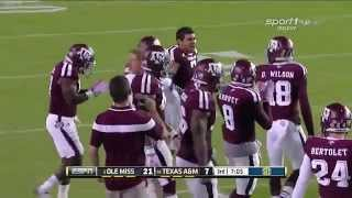 #3 Ole Miss vs #14 Texas A&M 2014 FULL FOOTBALL GAME HD