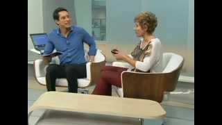 """Entrevista Regina Bittar Globo News- """" Em Pauta"""" - 1 parte"""