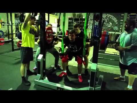 Zoran Squats 280kg PTC HQ