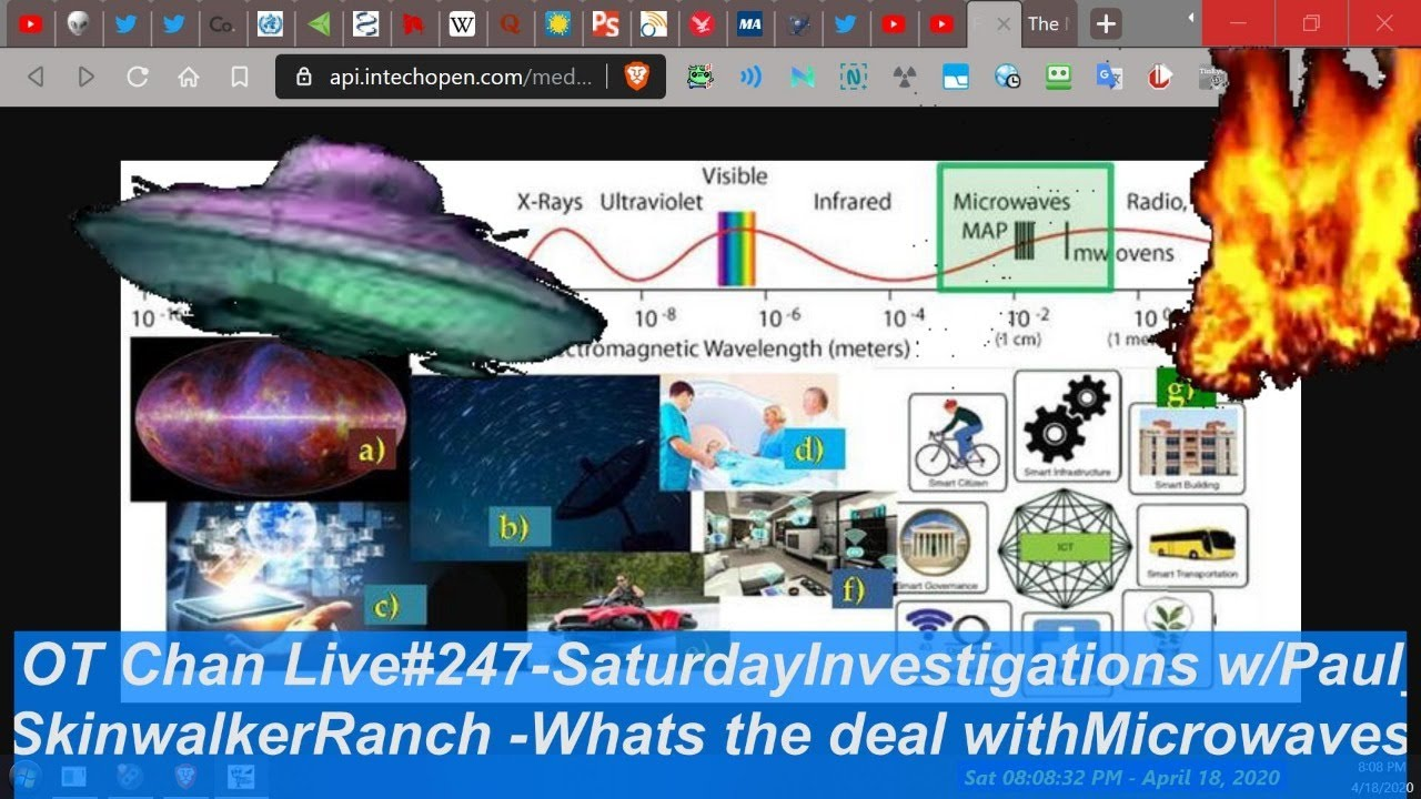 Saturday Live UFO Topics & Vid Analysis - Skinwalker Ranch Microwaves Mystery ) - OT Chan Live#2