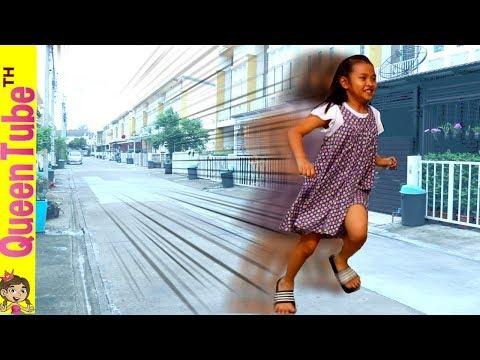จะเป็นยังไงน่ะถ้า น้องควีน วื่งเร็วที่สุดในโลก? What If Queen Become A Flash Girl? | QueenTubeTH ✔︎