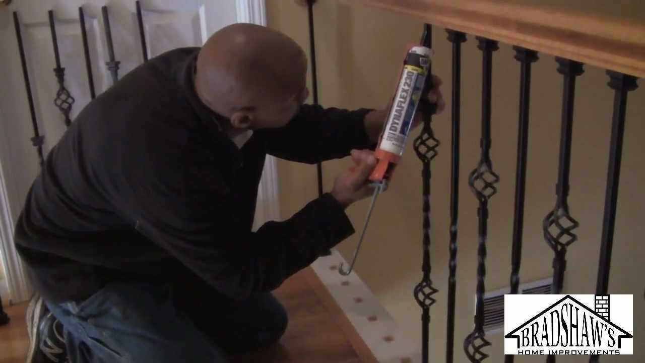 Marvelous How To Install Stair Spindles   YouTube