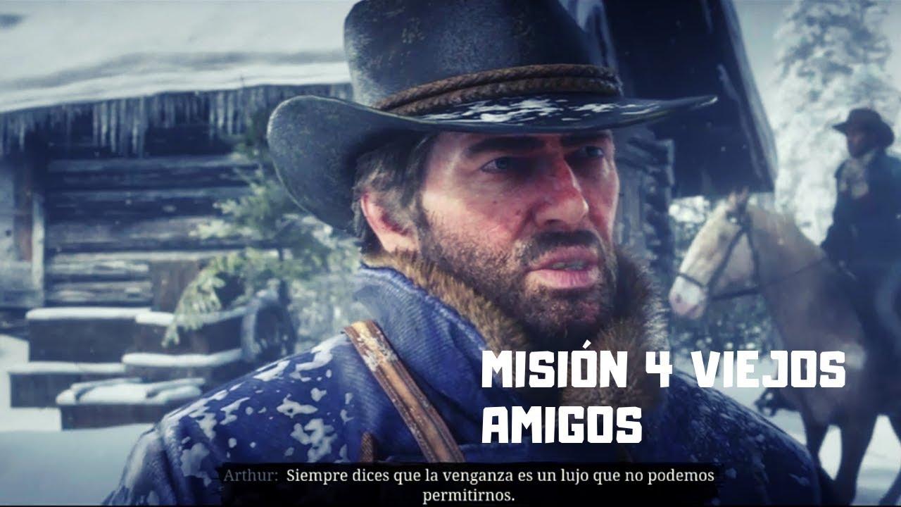 4 Viejos ⚫red dead redemption 2 ⚫-misiÓn #4-💣💣 |viejos amigos