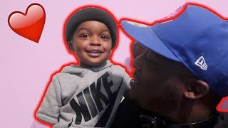 I TOLD MY SON IM READY FOR A GIRLFRIEND !!! * HE APPROVED * | VLOGMAS 3