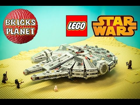 Millennium Falcon 75105 LEGO Star Wars - Stop Motion Review