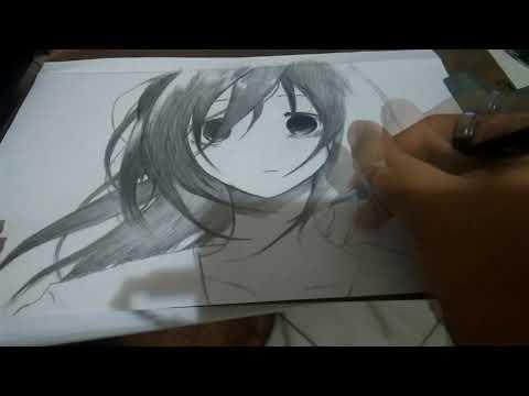 Speedart Desenho Garota Triste Sad Girl Youtube
