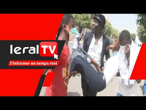 Le film de la manifestation des étudiants pro Idy après la publication des résultats