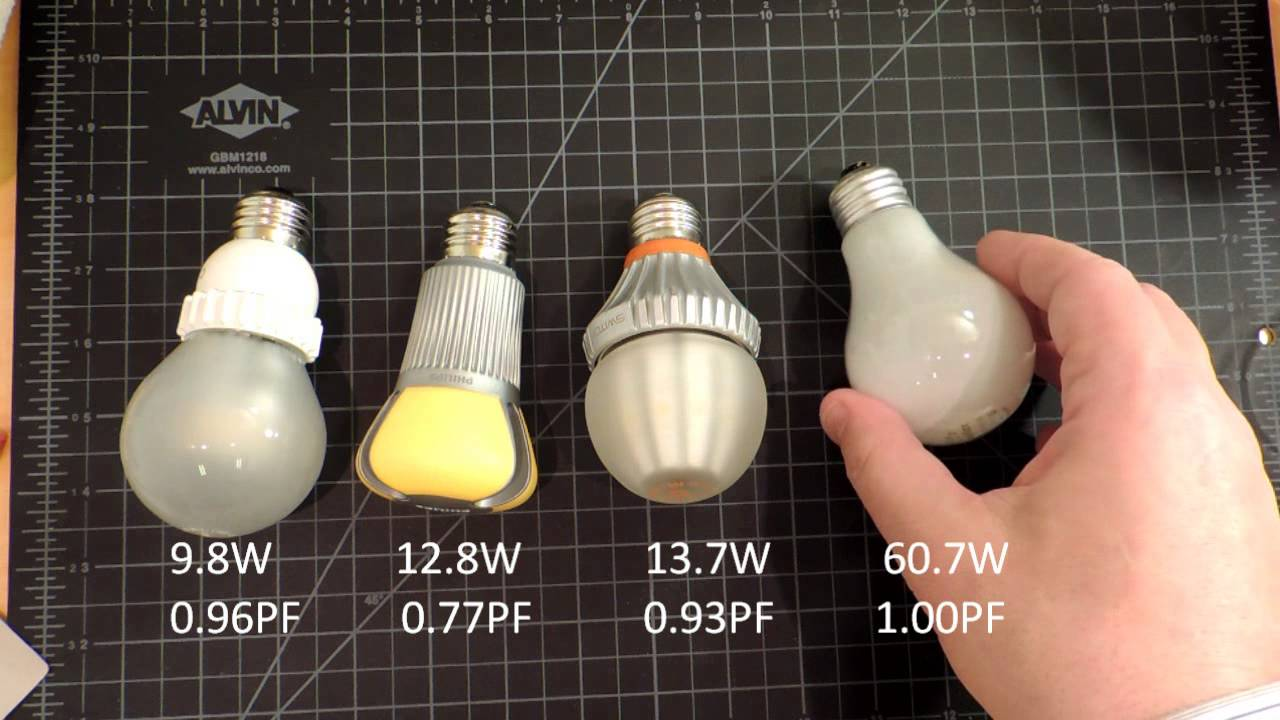 Switch 60 watt led bulb review and comparison youtube for Lampadine led 60 watt