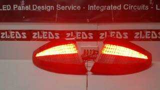 Custom Maserati GT Sequential LED Tail Lights