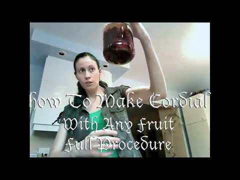 How To Make Cordial With Any Fruit (Full Procedure)