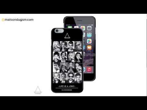 Coque Apple IPhone 6 ElevenParis Faces Case 6