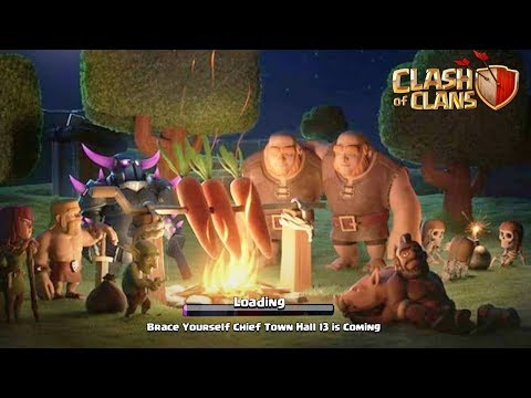 Finally! TH13, New Hero Town Hall 13 Update - Clash Of Clans - COC