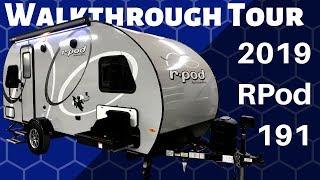 2019 RPod 191 Travel Trailer Walkthrough Tour