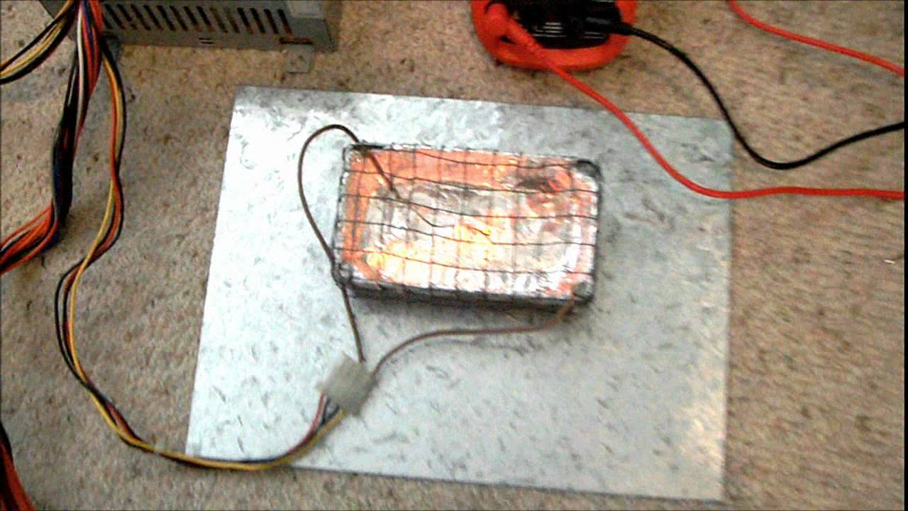 Simple 100 Watt Heater Youtube Basic Furnace Wiring