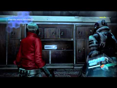 Resident Evil 6 Ada's campaign Co-Op Walkthrough No Hope Difficulty w/ beto_8a - Chapter 1