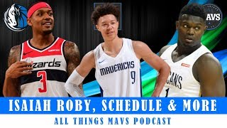Dallas Mavericks Sign Isaiah Roby, Mavs 2019-20 Schedule Leaked Games & LUNCH TABLES!