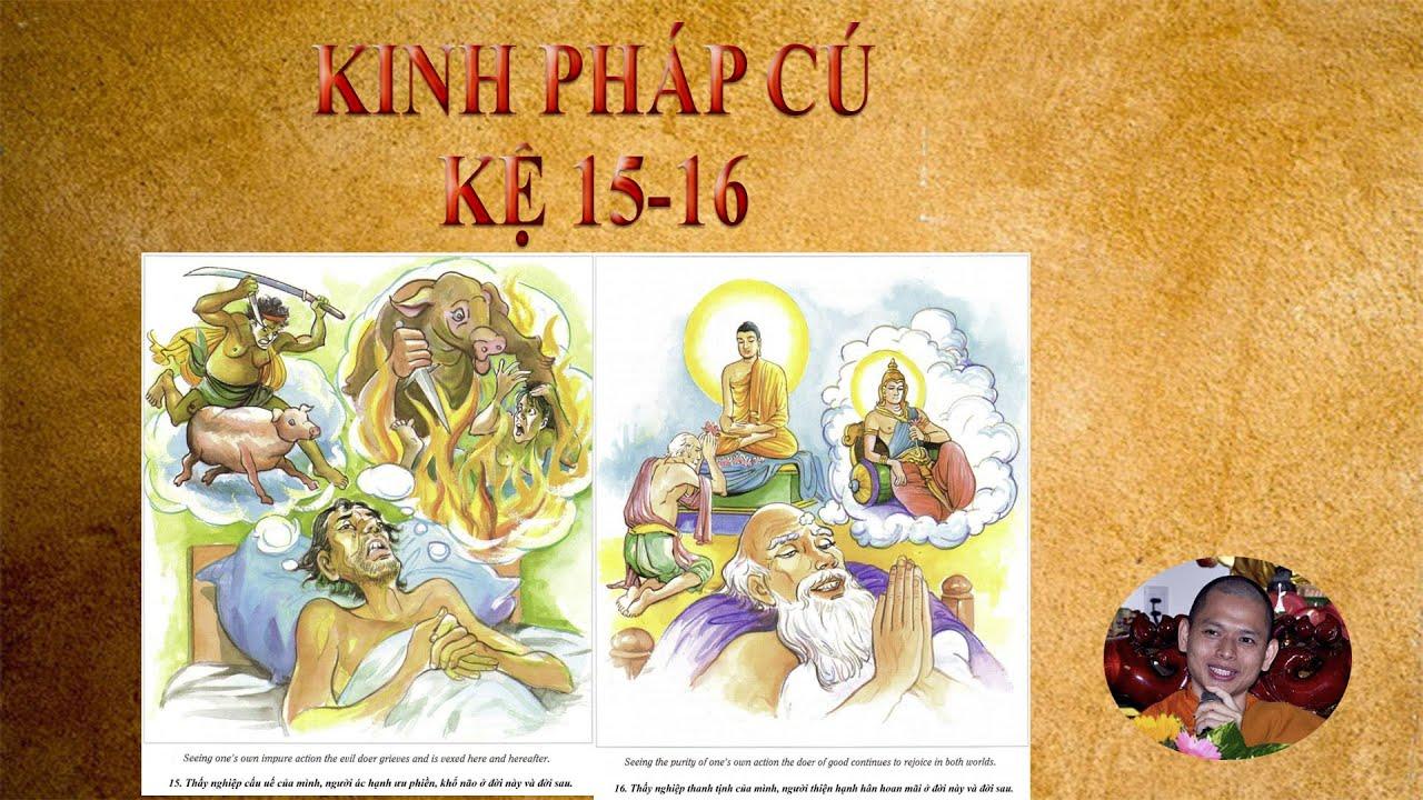 Kinh Pháp Cú – kệ 15-16 – sư Hạnh Tuệ