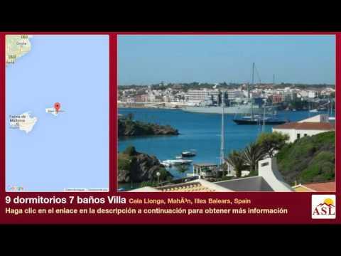 9 dormitorios 7 baños Villa se Vende en Cala Llonga, Mahón, Illes Balears, Spain