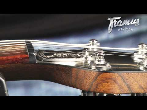 Framus Tutorial: Setup of a Guitar with a TonePros Bridge