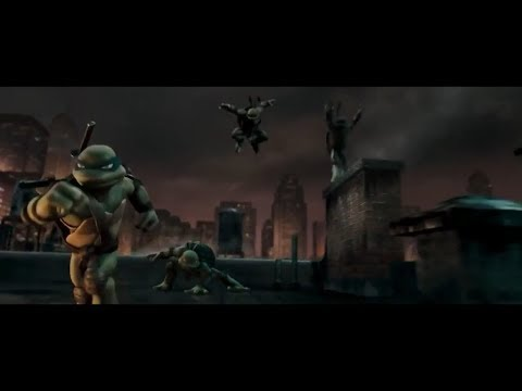 "TMNT (2007) End scene ""We strike hard..."""