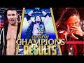 WWE CLASH OF CHAMPIONS 2017 FULL SHOW RESULTS (WWE CLASH OF CHAMPIONS 2017 RESULTS)
