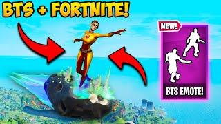 *NEW* VIRAL BTS EMOTES ARE HERE!! - Fortnite Funny Fails and WTF Moments! #1045