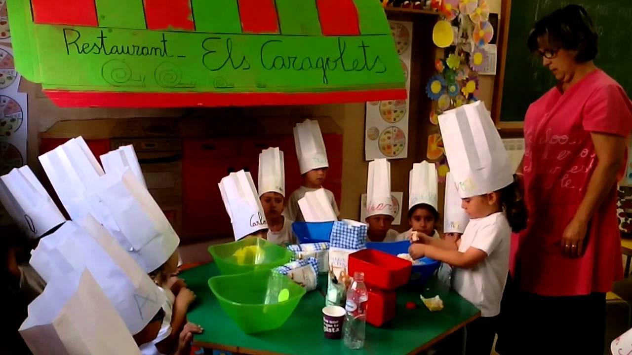 5 a os proyecto nuestro restaurante youtube for Proyecto cocina restaurante