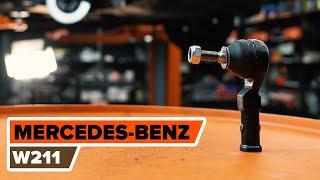 Montering Styrekugle MERCEDES-BENZ E-CLASS: videoinstruktioner