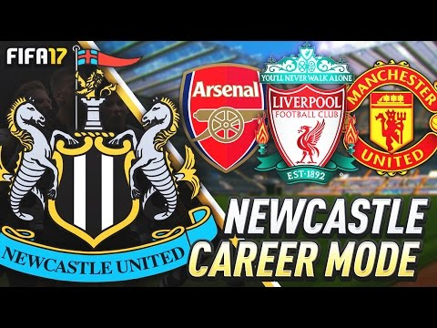 ARSENAL, LIVERPOOL AND MAN UTD!!! FIFA 17 Newcastle United Career Mode #33